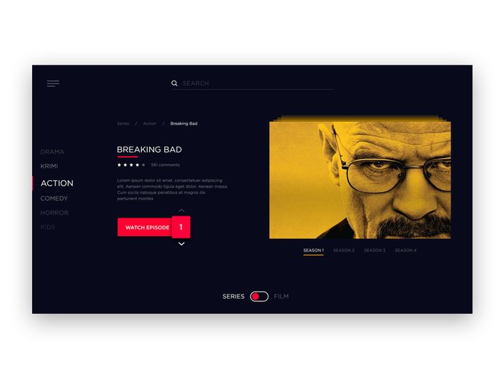 TV App UI Inspiration — Muzli -Design Inspiration — Medium