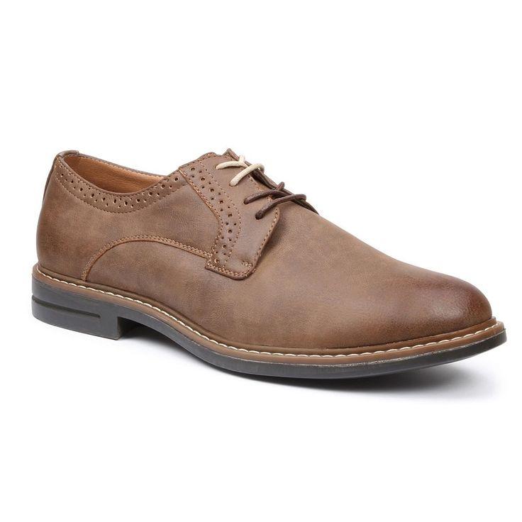 IZOD Chad Men's Oxford Shoes, Size: medium (9.5), Dark Brown