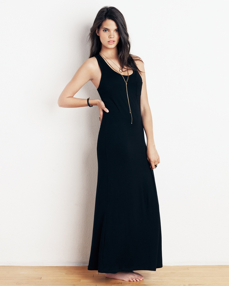 Racerback Maxi - Pair with a long necklace
