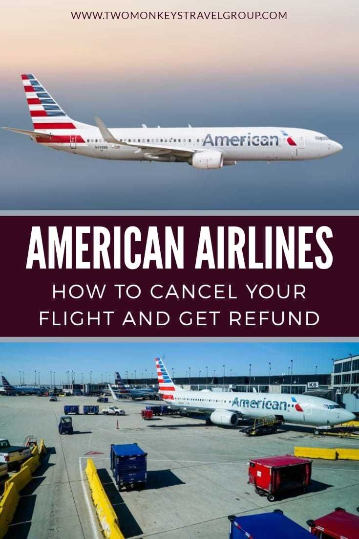 How To Get A Refund For American Airlines Flight
