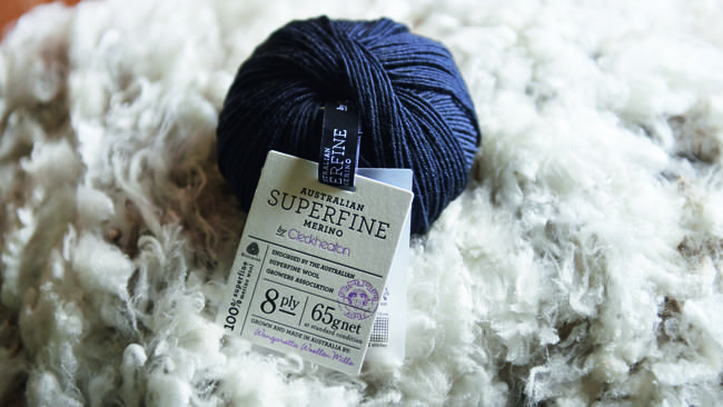 Premium yarn: Superfine wool is being milled into yarn. Pictures: Peter Rosetzky