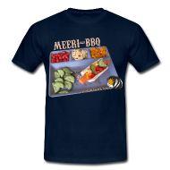 T-Shirts ~ Männer T-Shirt ~ Meeri-BBQ für Männer