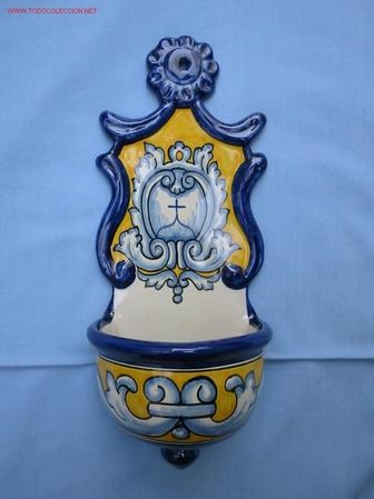 Bendidera, cerámica de Talavera de la Reina #MarcaTalavera #Talavera