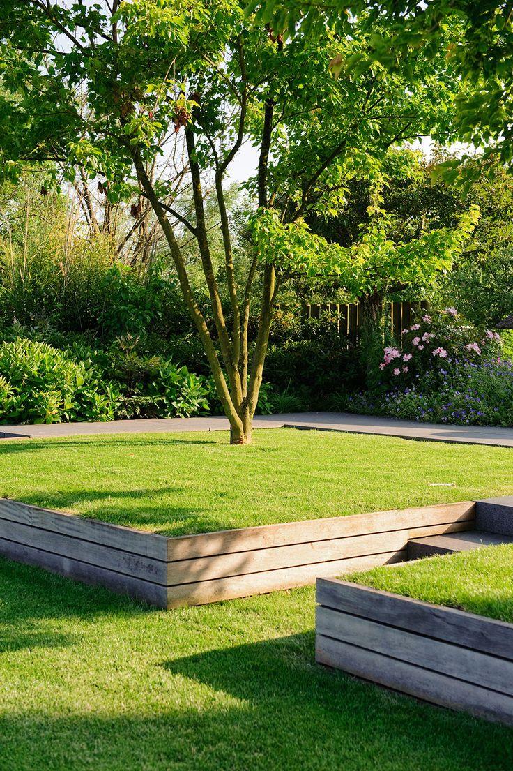 Best 25+ Wooden garden edging ideas on Pinterest