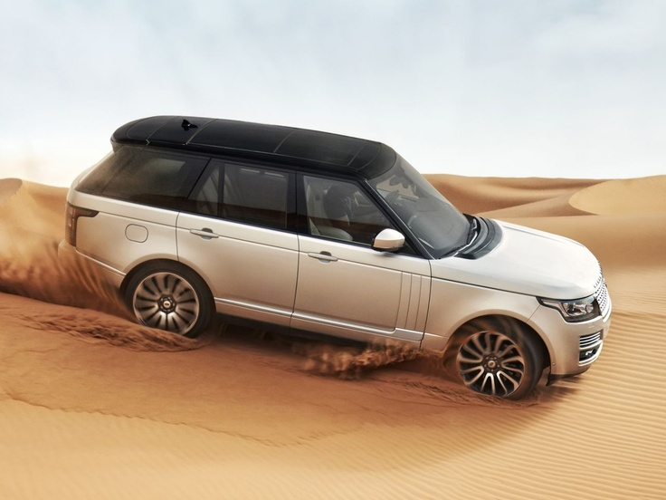 The new 2013 Range Rover.