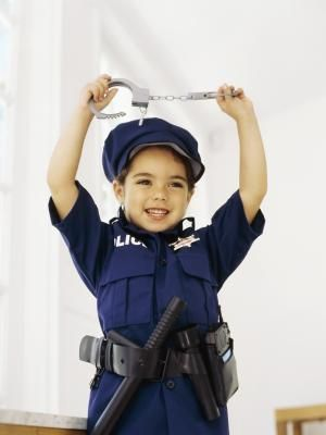 Kindergarten Activities for a Police Officer Unit: Prepav, Red Lights, Police Cars, Gold Badges, Kindergarten Activities