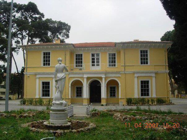 İzmir'in Tarihi Levanten Evler- Baltazzi mansion