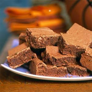 Bourbon Fudge Brownies | MyRecipes.com