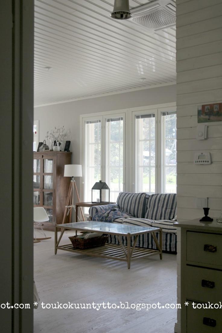 My livingroom 2, Pentik - IKEA Ektorp - Flea Market Finds - Kannustalo Merellinen sisustus, coastal style interior