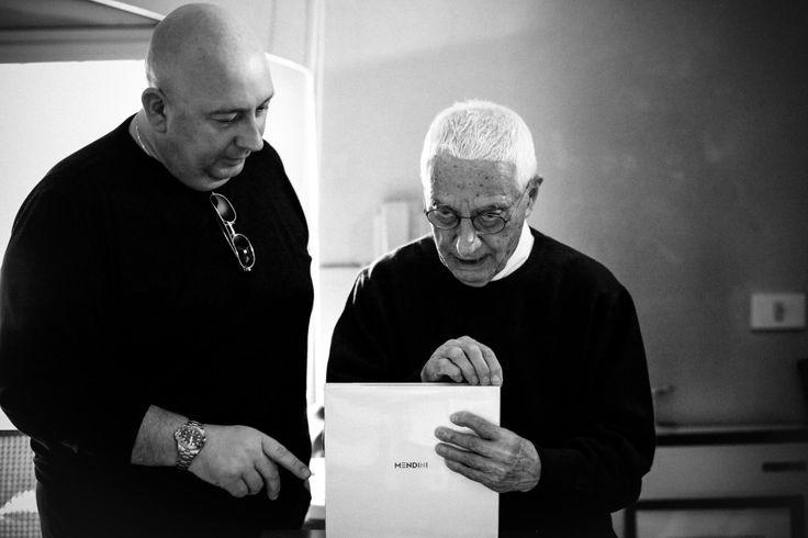 #SimonePavan Il direttore di #kyossmagazine , intervista #AlessandroMendini. #Photography by Wilder Biral for kyossmagazine #Arte #Design #Architecture