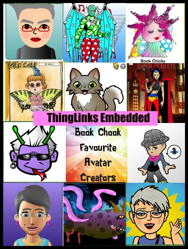 TOUCH this image: My Favourite Avatars by BookChook