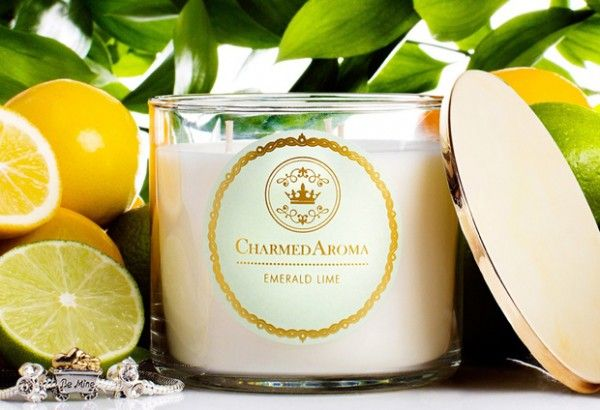Charmed Aroma candles: An easy, cute gift idea