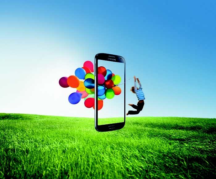 Samsung Galaxy S4 oltre la realtà.  #LifeCompanion #SamsungS4