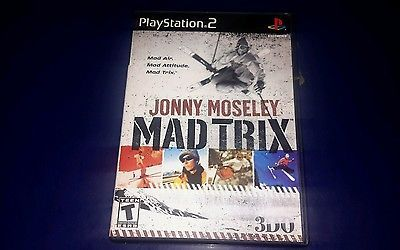 Jonny Moseley Mad Trix (Sony PlayStation 2, 2001)