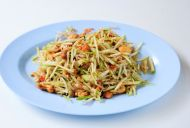 Asian Slaw With Hot, Sweet Dressing