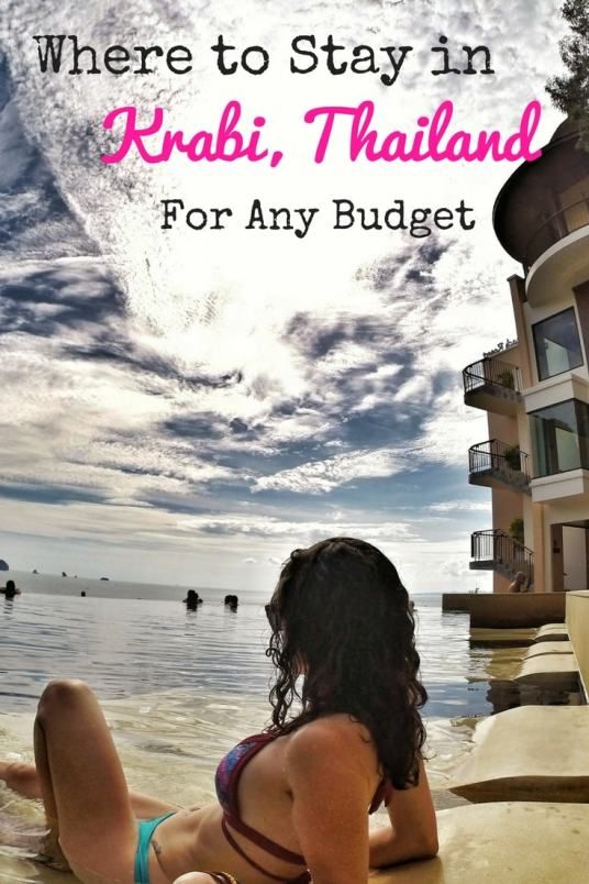 Not sure where to stay in Krabi, Thailand? No worries! Check this out, no matter what your budget is...