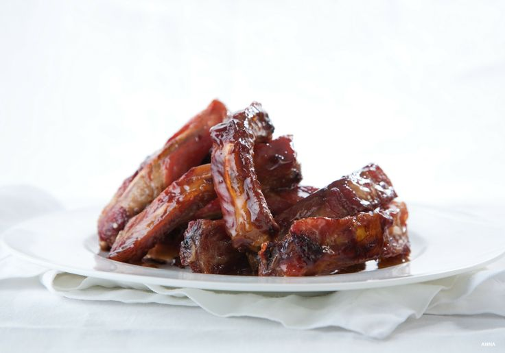 Pork ribs with maple glaze. Consistently one of our top recipes and one you should take note of now. Slow roasted with a velvety maple glaze, these ribs never last long on the dinner table.
