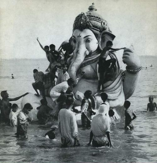 Ganesha: Hindu Elephant God, remover of obstacles.