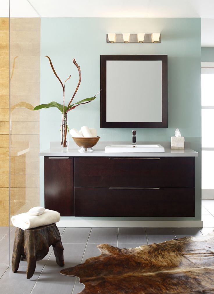 spectacular bathroom vanities brampton. Wall Mounted Bathroom Vanity in Dark Cherry  Decora 22 best Bath Lighting Inspiration images on Pinterest