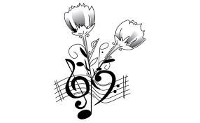 Image result for rose and saxophone tattoos
