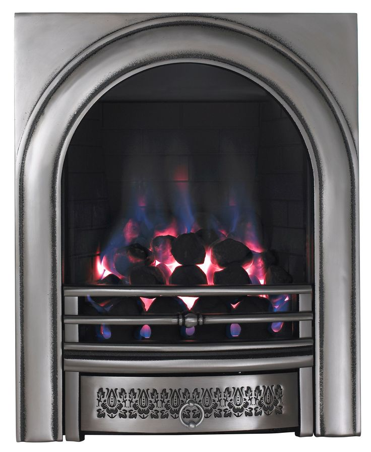 Focal Point Arch Manual Control Inset Gas Fire | Departments | DIY at B&Q