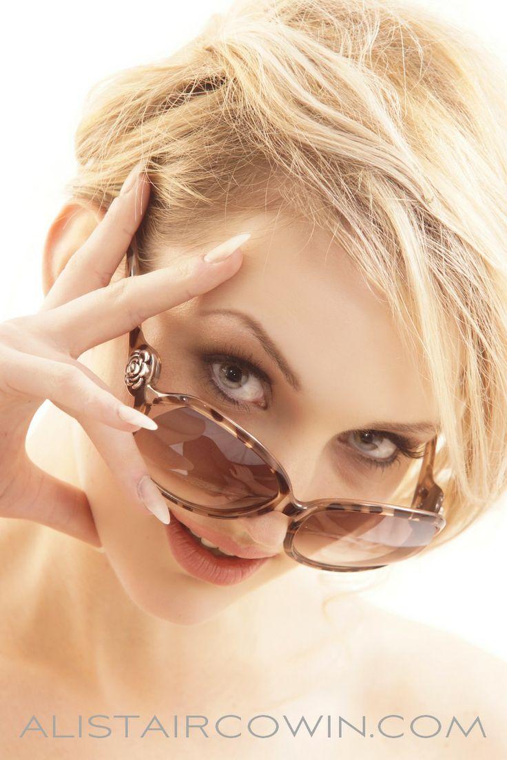 Studio beauty shoot for model's Portfolio - makeup by Gemma Richmond