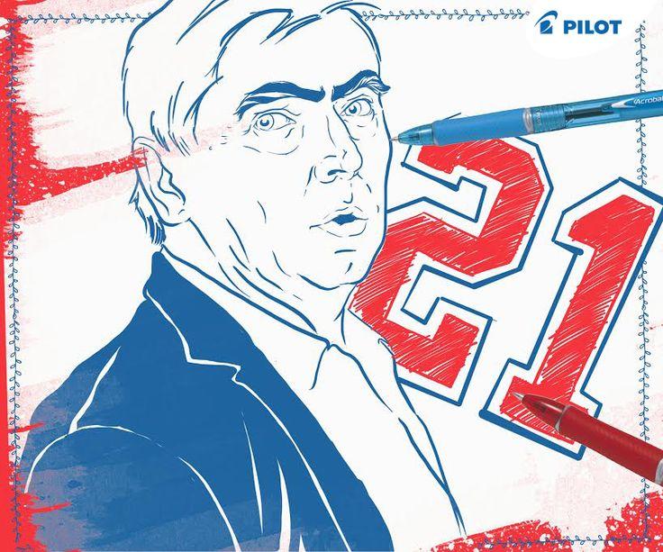 Poznáte jaká velká hokejová osobnost je na obrázku a proč má u sebe číslo 21?
