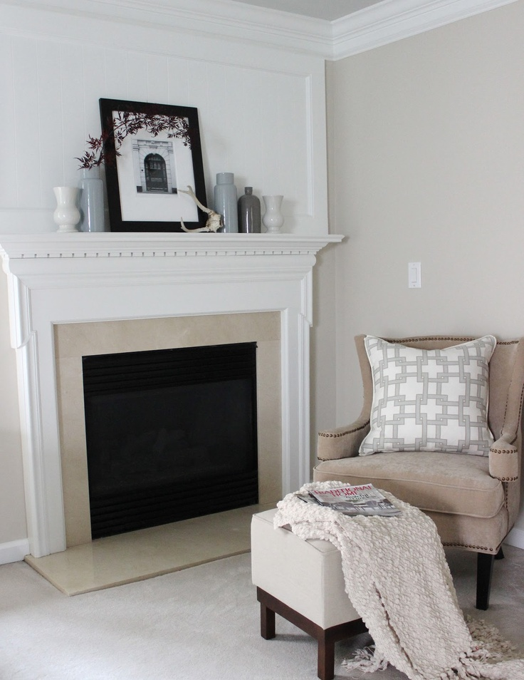 We Painted The Walls Elmira White Bm Which Is A Great Neutral Color With