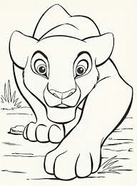 Nala Hunting For Kids Pinterest Disney Coloring Pages