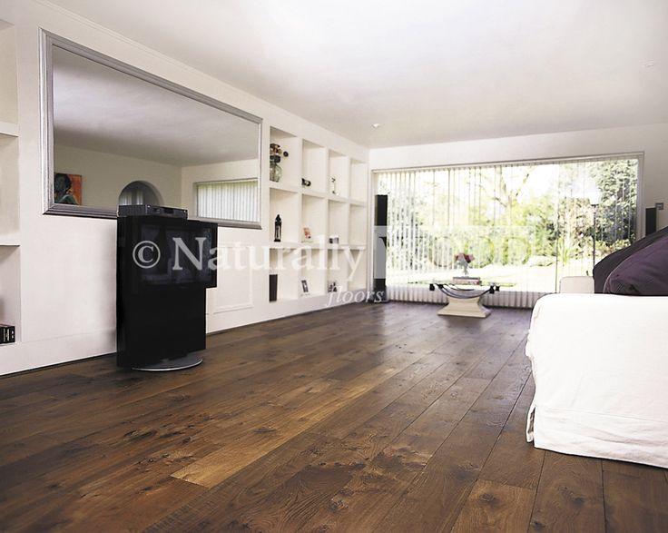 Legacy European Rustic Oak - Distressed, Smoked & Dark Oiled - Flooring