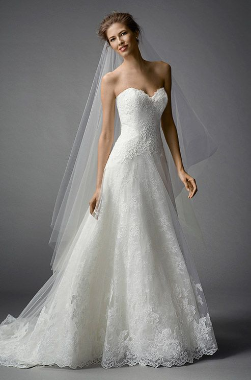 Would Be So Pretty For A Symmer Garden Wedding Watters Brides Farrin Gown