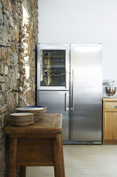 Cool Fridge with Wine Chiller
