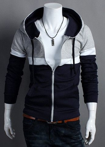 Multicolor Long Sleeve Spring Autumn Hoodies for Men – teeteecee - fashion in style