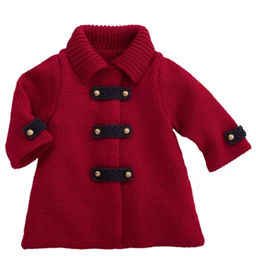 Love this knitted baby jacket