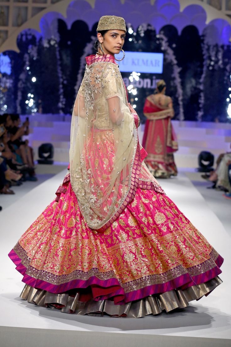 """@ritukumarhq """"Our first #lehenga from our Benaras project."""""""