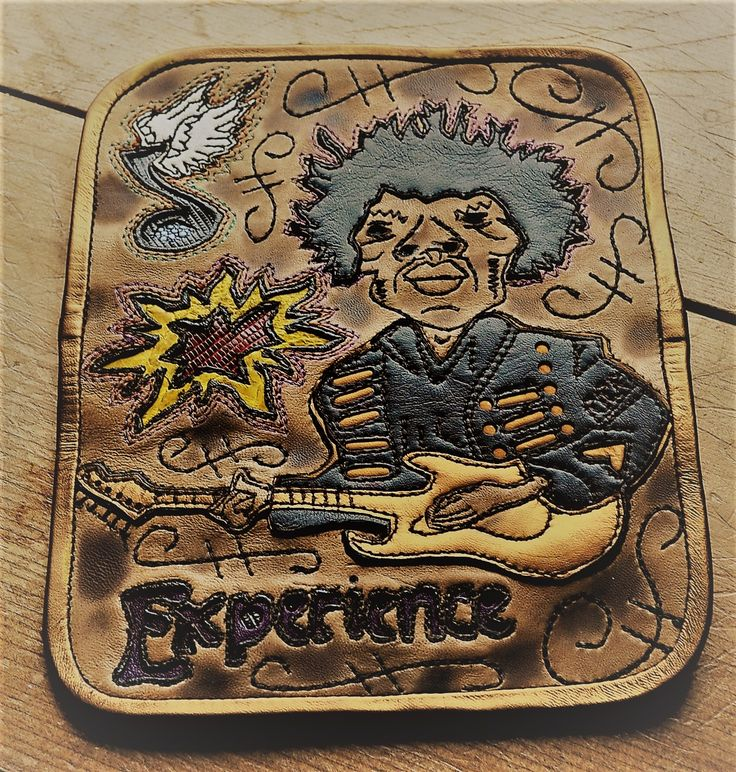 Wallet Tribute to Jimi Hendrix
