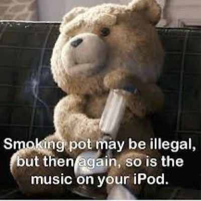 Ted Movie Quotes About Weed