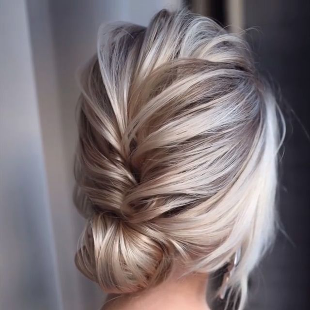 DIY Tutorial long hairstyles and updos #wedding #hairstyles #weddingideas #updos #weddingupdos