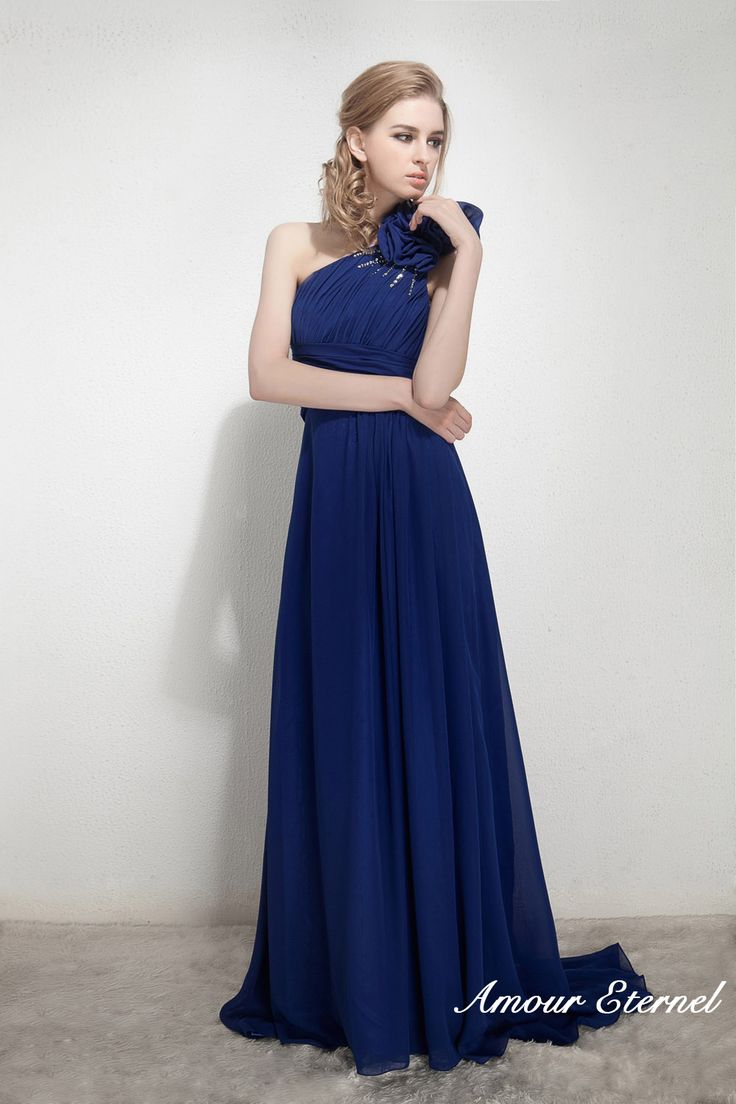 17 best images about bridesmaid dresses on pinterest for Midnight blue wedding dress
