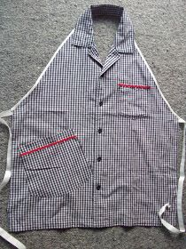 How to turn a shirt into an apron
