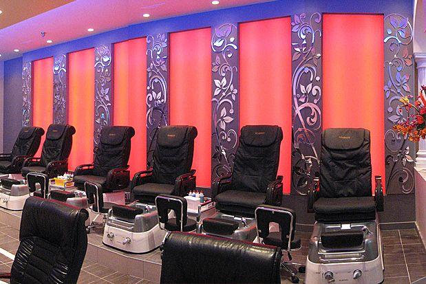 spa salon designs   Nail Salon Interior Design   Home Interior Design