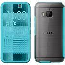 HTC Dot View Ice-Premium Case For HTC One M9, Blue Price: AED 69 | UAE