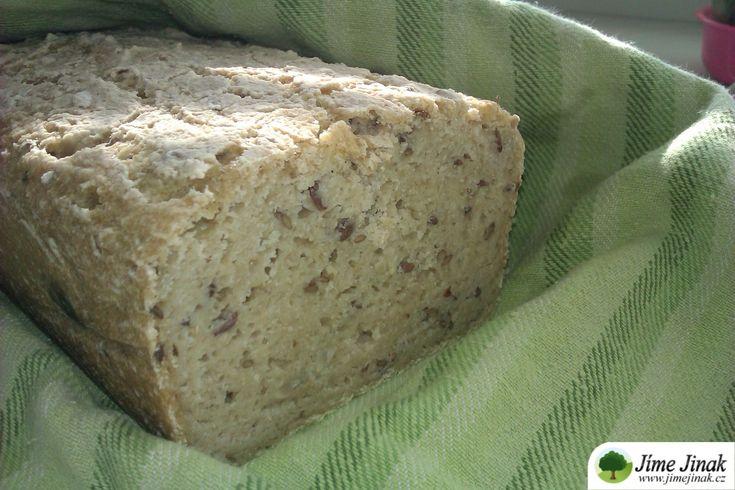 Kukuřično-pohankový bezlepkový chléb » Jíme Jinak