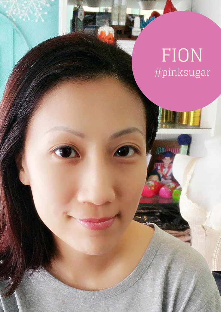 FION in pearlescent Pink Sugar.