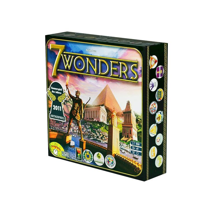 7 Wonders Board Game, Board Games