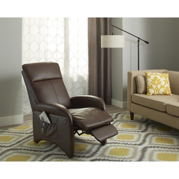 small bedroom recliner simple living addin small reclining accent chair home 13261