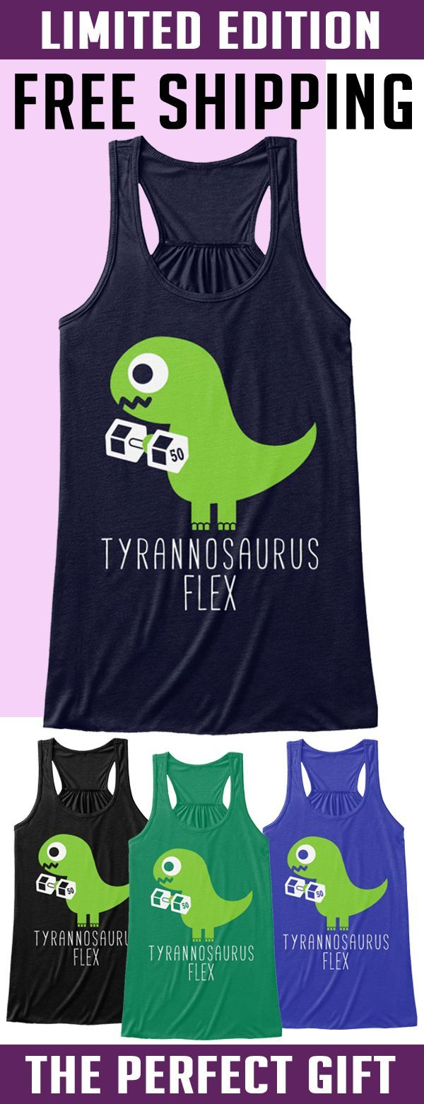 Cute Dinosaur Lifting - Limited Edition. Only 2 days left for free shipping, get it now!