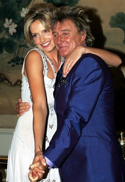 Rod Stewart and Penny Lancaster . 2007