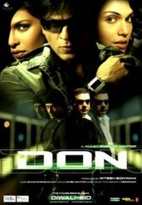 """It is not hard to catch Don - it is impossible."" So says the title character. Shahrukh Khan returns to his psychopathic roots and makes a character that is both cool and creepy and totally unforgettable. Enjoyable, with lots of twists and turns right up until the very end."