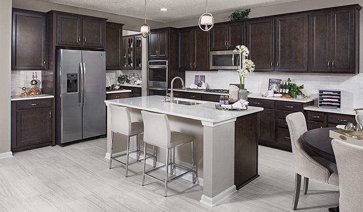 Dillon-JAX-Kitchen | Shearwater | Richmond American Homes | St. Augustine, FL…
